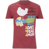 Woodstock Men's 3 Days of Peace T-Shirt - Heather Cardinal: Image 1