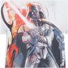 Star Wars Men's Vader Stencil T-Shirt - White: Image 3