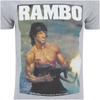 Rambo Men's Gun T-Shirt - Grey: Image 5