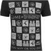 Game of Thrones Men's Win or Die T-Shirt - Black: Image 3