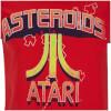 Atari Men's Asteroids Atari Vintage Logo T-Shirt - Red: Image 3