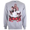 Star Wars Men's Christmas Choir Crew Sweatshirt - Grey Heather: Image 1