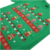 Despicable Me Men's Christmas Pattern T-Shirt - Irish Green: Image 4
