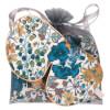 Holistic Silk Anti-Ageing Eye Mask Pillow Case Gift Set - Blue: Image 1