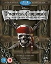 Pirates of the Caribbean Box Set (1-4 plus bonus disc)