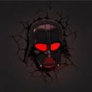 Star Wars Darth Vader 3D Wall Light