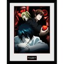 Death Note Light, L and Misa - 16 x 12 Inches Framed Photographic