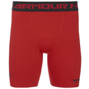 Under Armour 男子 HeatGear 强力伸缩型运动短裤 - 红色