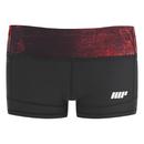 Myprotein 女子专业运动短裤 – 红灰色