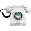 Retro Marble Telephone