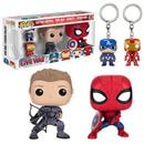 Captain America: Civil War Pop! Vinyl Figure and Key Chain 4-Pack