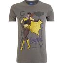 DC Bombshells Men's Batgirl T-Shirt - Grey