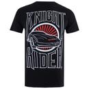 Knight Rider Men's Dark Knight T-Shirt - Black