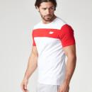 Myprotein 男子 Core 条纹运动T恤 - 红色