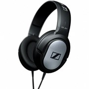 Sennheiser HD 201 Over Ear Headphones - Black/Silver