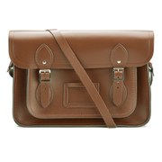 The Cambridge Satchel Company 13 Inch Leather Satchel - Vintage Brown