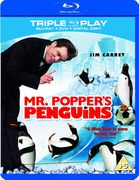 Mr. Poppers Penguins - Triple Play (Blu-Ray, DVD en Digital Copy)