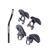 ZIPP Aerobar Vuka Alumina Clip Top Mount with Carbon Race Extensions