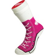 Silly Socks Baseball Boots - Pink
