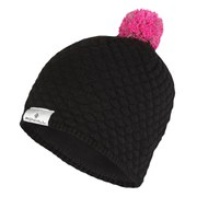 RonHill Women's Vizion Bobble Hat - Black/Fluorescent Pink