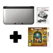 Nintendo 3DS XL Silver: Bundle includes Professor Layton and the Azran Legacy