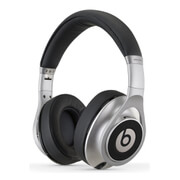 Beats by Dr. Dre Executive Over Ear Headphones - Silver - Manufacturer Refurbished