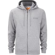 Salvage Men's FZ Hooded Sweatshirt - Grey Marl