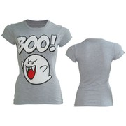 Boo - T-Shirt Women's (Grey)