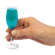 Bluw Champagne Shot Glasses