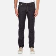 J.Lindeberg Men's Jay Profile Slim Denim Jeans - Dark Blue