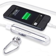 Veho Pebble Smartstick+ Emergency Portable Battery Back Up Power, 2800mah - Silver