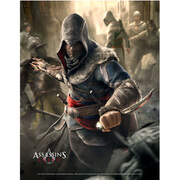Assassin's Creed Fight Your Way Wallscroll
