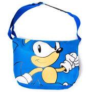 Sega Sonic The Hedgehog Walks Messenger Bag