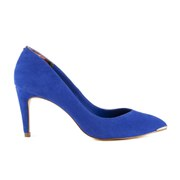 Ted Baker Women's Monirra Suede Court Shoes - Dark Blue
