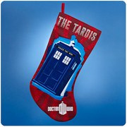 Doctor Who Tardis Red Christmas Stocking