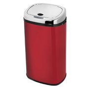 Morphy Richards 42 Litre Square Sensor Bin - Red