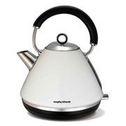 Morphy Richards 102005 Accents Traditional Kettle - White