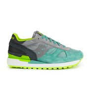 Saucony Women's Shadow Original Trainers - Light Grey/Light Green