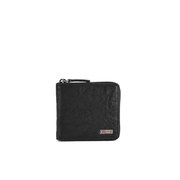 BOSS Orange Ruse 'Ranau' Leather Zip Around Leather Wallet - Black