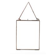 "Nkuku Kiko Glass Frame - Antique Copper - Portrait 8"" x 10"" (20 x 25cm)"