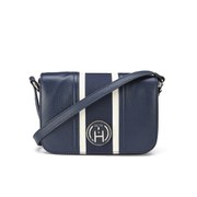 Tommy Hilfiger Claire Flap Cross Body Bag - Midnight