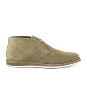 BOSS Orange Men's Voreno Suede Desert Boots - Dark Beige