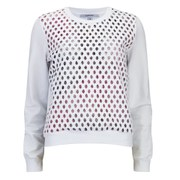 Carven Women's Organza Sweater - White