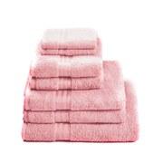 Restmor 100% Egyptian Cotton 7 Piece Supreme Towel Bale Set ( 500gsm) - Pink