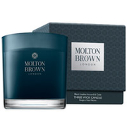 Molton Brown Black Leather Accord and Cade Single Wick Candle