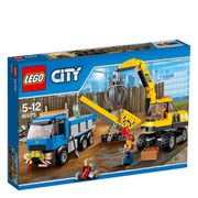 LEGO City: Excavator and Truck (60075)