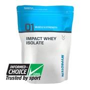 Impact Whey Isolate - Batch Tested Range
