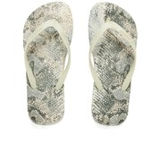 IIse Jacobsen Women's Printed Flip Flops - Sand