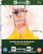 Breaking Bad: Seizoen 4 - Zavvi Exclusive Limited Edition Steelbook (Inclusief UltraViolet Copy)