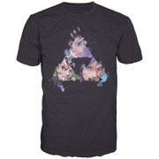 The Legend of Zelda - Triangles Faces Men's T-Shirt (Black) - S